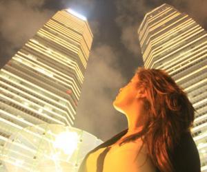 Avoir effectué un stage dans une ville comme Shanghai peut constituer plus tard un atout sur un CV.