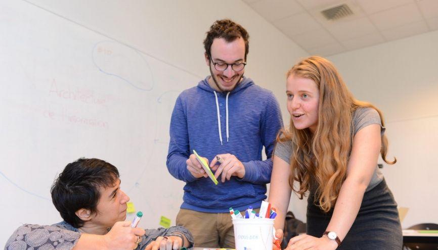 L'ENS Lyon a mis en place des classes préparatoires de l'enseignement supérieur réservées aux bacheliers boursiers. //©Olivier GUERRIN pour L'Étudiant