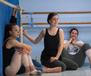 Rose, 15 ans, seconde TMD (techniques de la danse et la musique) au lycée Saint-Exupéry à Lyon.