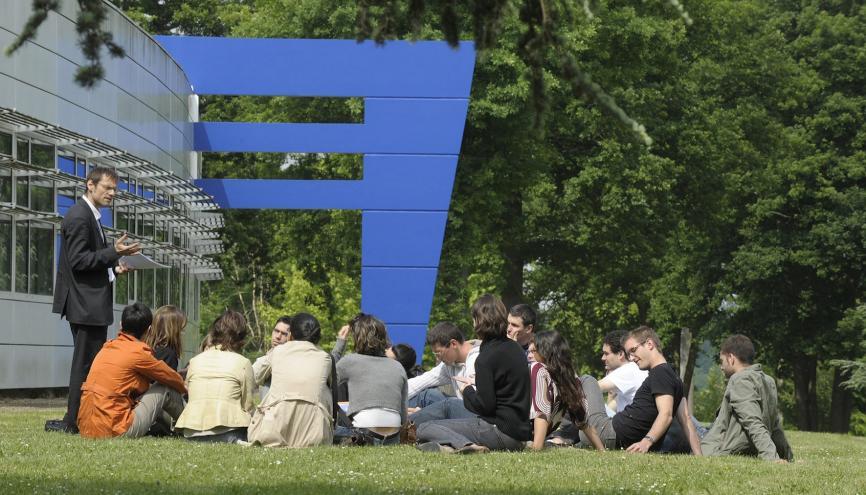 Sur les 90 écoles classées par le Financial Times, 24 sont françaises. HEC s'impose à la deuxième position depuis trois ans. //©Jean-Marc Biais / HEC Paris