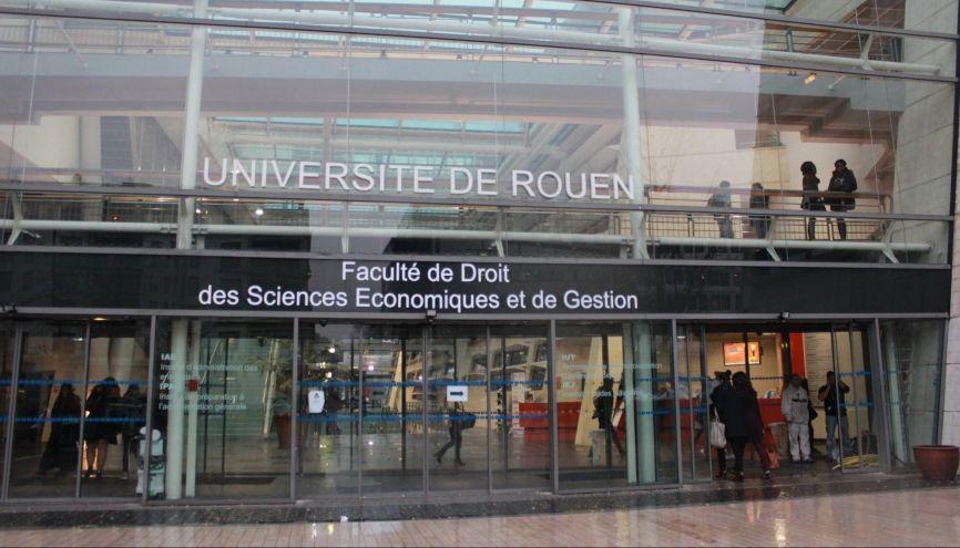 Fac de droit de l'université de Rouen. //©Delphine Dauvergne