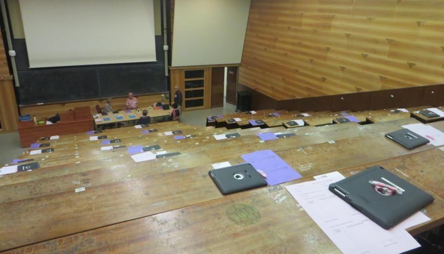 L'université Paris-Est Créteil fait partie des 34 centres qui font passer les ECNi en 2016. //©Virginie Bertereau