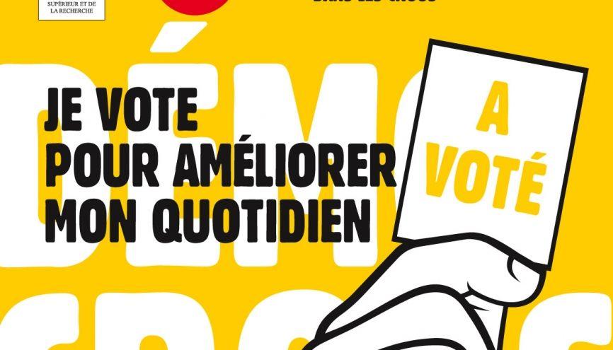 voter aux  u00e9lections du crous   comment  et  u00e0 quoi  u00e7a sert