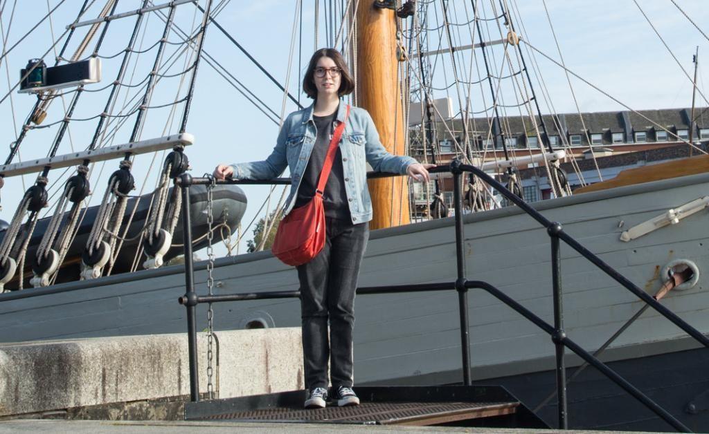 Florie profite de son temps libre pour visiter Bristol. Ici, le SS Great Britain, un bateau mythique construit en1843 et restauré. //©Alejandro Acin pour l'Etudiant