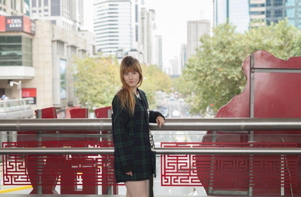 Après une année en colocation, Meggie a trouvé un petit appartement dans le quartier de Jing'an. //©Bertrand Starck pour l'Etudiant