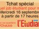 Des conseils pour trouver un job pendant vos études //©L'Étudiant