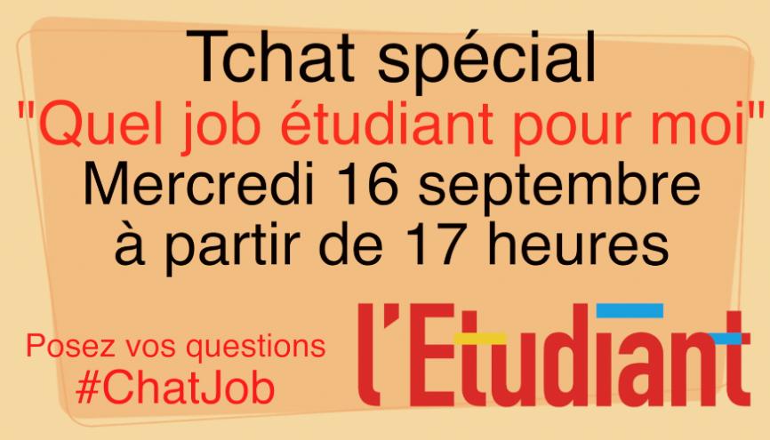 Des conseils pour trouver un job pendant vos études //©l'Etudiant