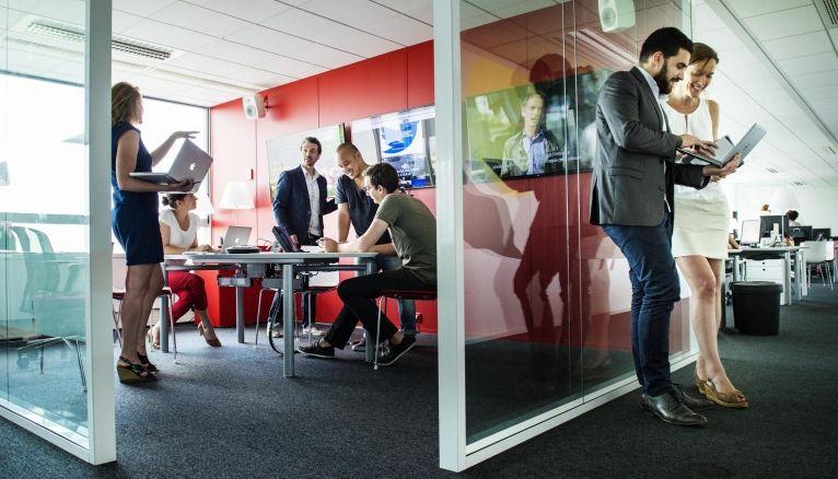 Avec 3.934 entreprises de publicité implantées, l'Île-de-France accueille près de la moitié des sociétés du secteur.