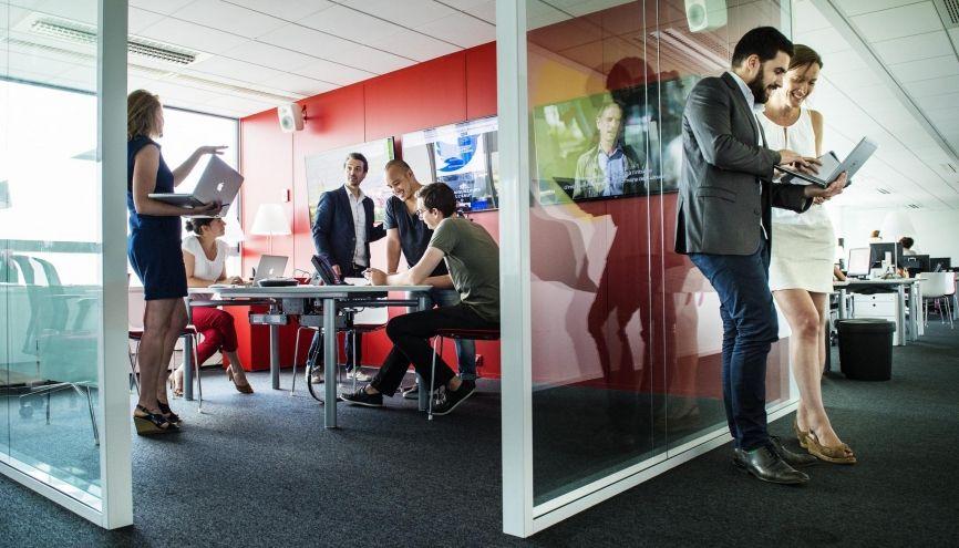 Avec 3.934 entreprises de publicité implantées, l'Île-de-France accueille près de la moitié des sociétés du secteur. //©William Beaucardet pour l'Étudiant