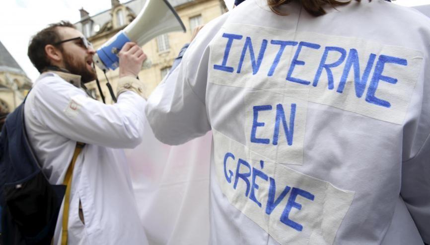 Dès le 10 décembre, les hôpitaux de France devraient être au ralenti. //©©Nicolas TAVERNIER/REA