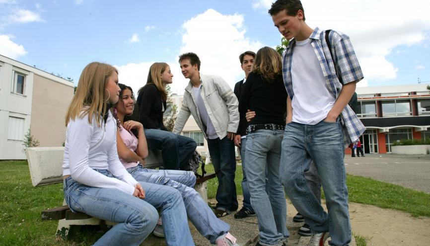 C'est au collège que le nombre d'élèves va augmenter le plus ces prochaines années. //©Phovoir