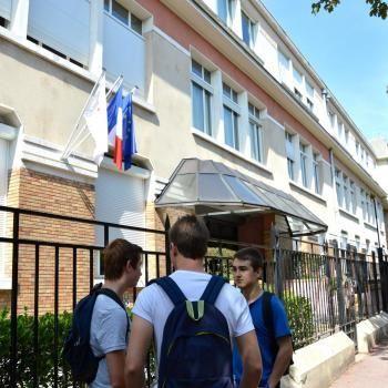 La rentrée en première au lycée Condorcet de Saint-Maur (94). //©erwin canard