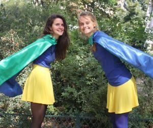 Irène Soulages et Aurélie Pichard, fondatrices de BimBamJob, sortent leurs capes de superwomen contre le chômage.