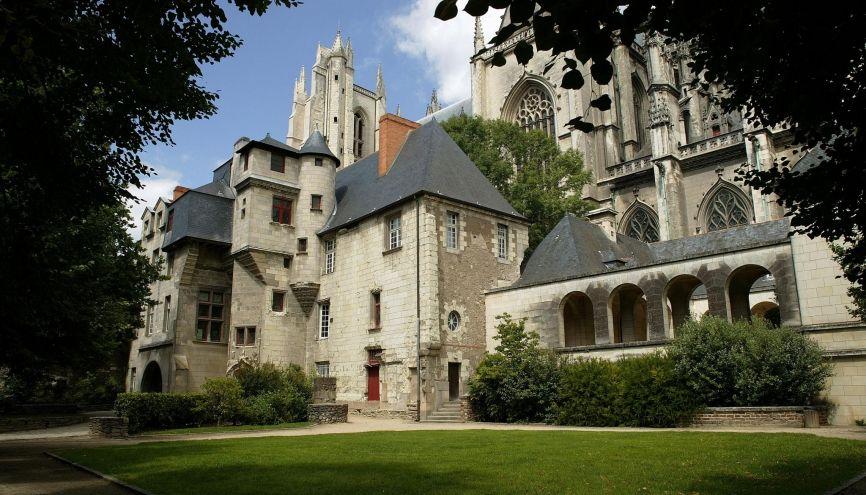 Le square de la Psallette, à Nantes. //©Phovoir