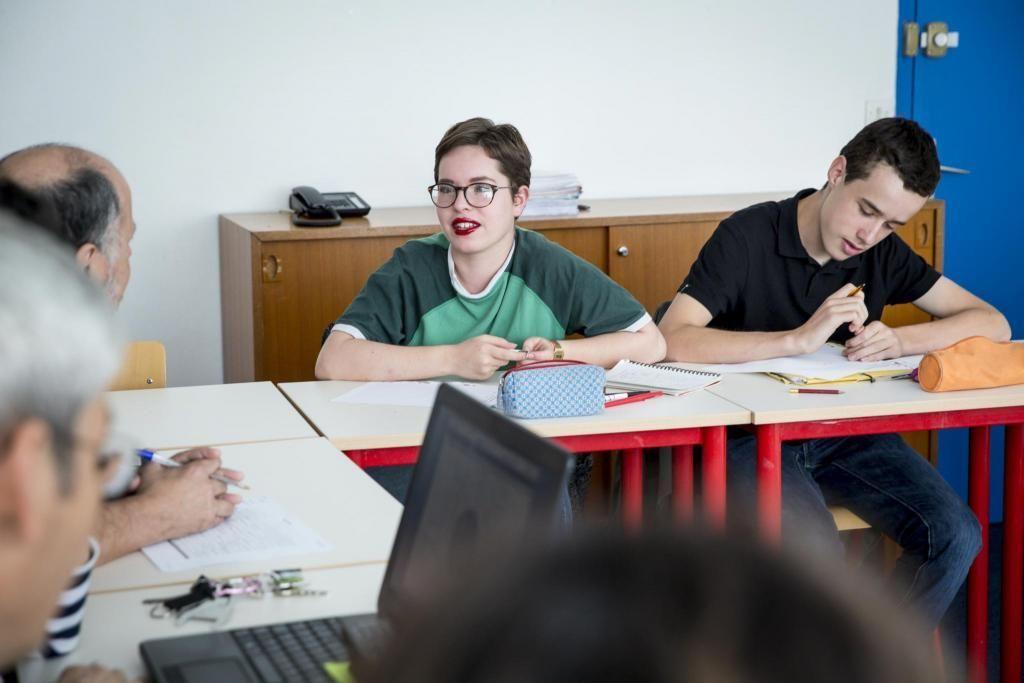 Le conseil de classe est un moment important. Le rôle des délégués est de représenter les élèves, noter et transmettre ce qui est échangé à leur sujet. //©Florence Levillain pour L'Étudiant