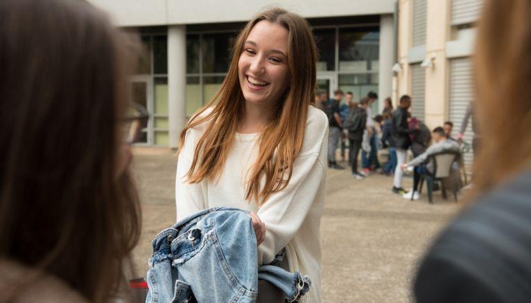 Juliette retrouve le sourire après une seconde générale difficile. Elle ne regrette pas sa réorientation.