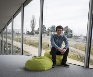 Olivier, futur ingénieur spécialisé en finance, à l'École polytechnique fédérale de Lausanne.
