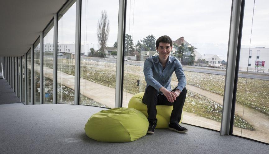 Olivier, futur ingénieur spécialisé en finance, à l'École polytechnique fédérale de Lausanne. //©Matthieu Zellwerger/Haytham REA pour l'Etudiant