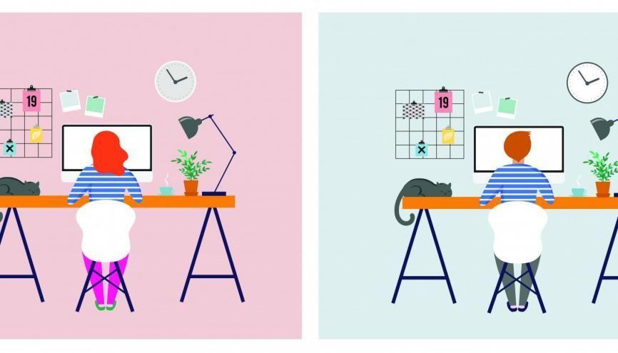 L'Etudiant vous accompagne dans votre travail à la maison. //©Adobe Stock/Marina Zlochin