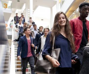 Les Bachelors (ici à Novancia Business School) séduisent de plus en plus d'étudiants.