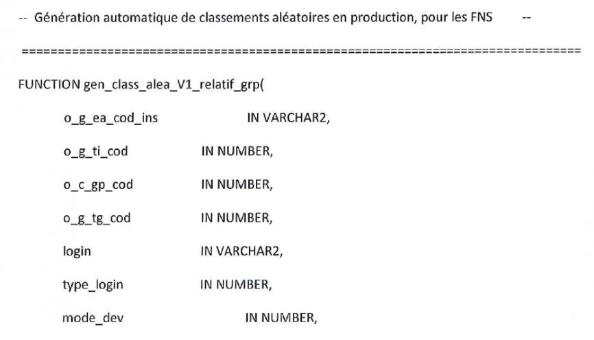 Le ministère a enfin rendu public un élément de l'algorithme d'APB //©Ministère de l'Éducation nationale
