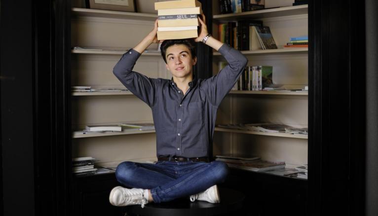 A 16 ans, Guillaume a déjà acquis une grande culture littéraire.