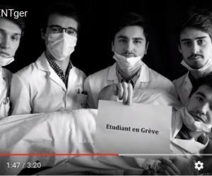 Les étudiants en chirurgie dentaire de Reims ont posté sur les réseaux sociaux une vidéo virale pour exprimer leurs revendications.
