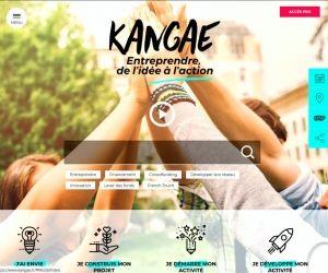 Kangae est un site Web dédié à l'entrepreneuriat pour les 15-25 ans.