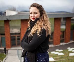 Pauline a trouvé dans l'université Savoie-Mont-Blanc un établissement à taille humaine.