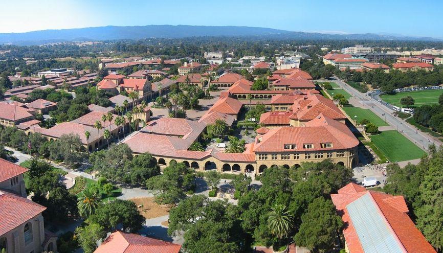 Campus de l'université de Stanford //©Stanford university