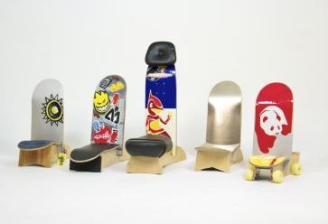 10 IDÉES DÉCO-RÉCUP' : Made in skateDR //©