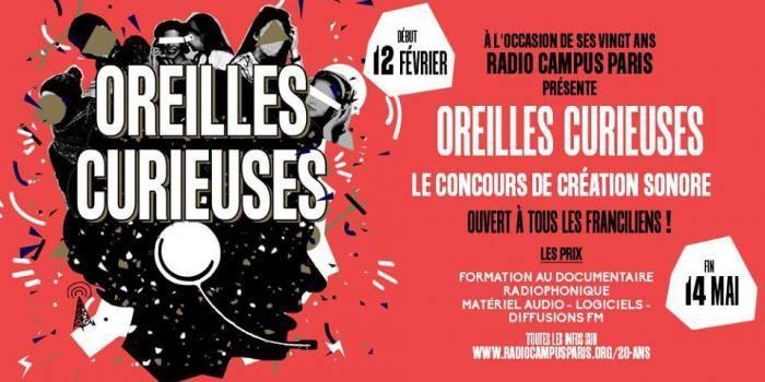 Pour ses 20 ans, Radio Campus Paris a pensé à vous !