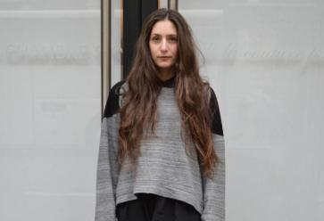 School look mode à la Chambre Syndicale de la Couture //©
