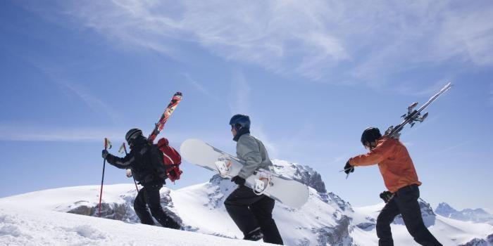 Ski : évitez les engueulades entre amis