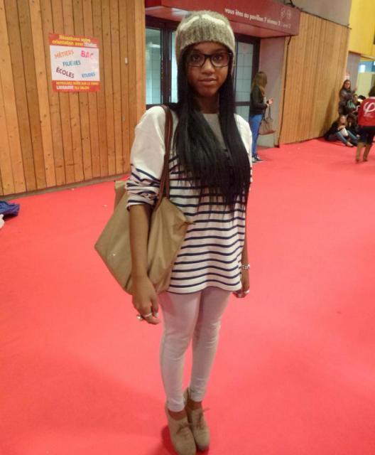 Looks d'étudiants - Julina