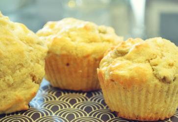 Recette sucrée des muffins pomme, cannelle & gingembreStudent Food //©
