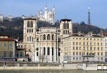 La colline de Fourvière est un haut lieu de l'identité de la ville. //©Wikipédia