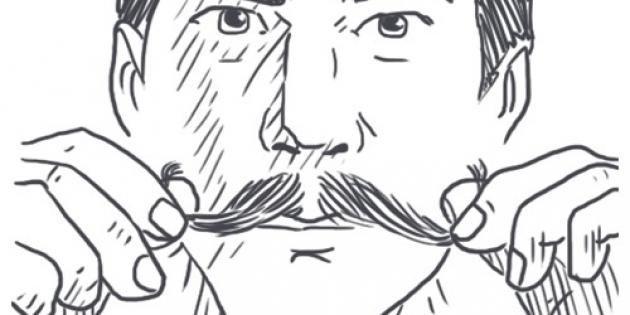 Comment se tailler la moustache ? //©Big Moustache