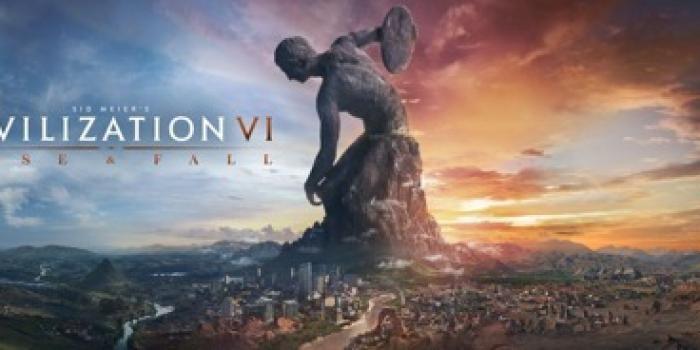 """Créez, développez et élevez votre civilisation au sommet ! L'extension """"Rise and Fall"""" est disponible depuis le 8 février 2018."""