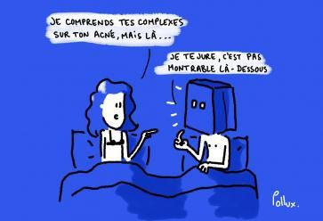 Au lit, ne vous laissez plus brider par vos complexes ! //©Pollux