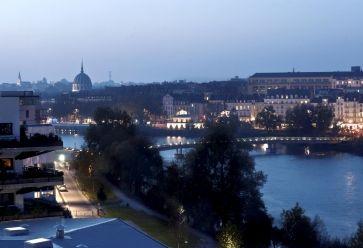 Une petite balade, le soir, au bord de la Loire, vous mettra en appétit. //©Jean Claude MOSCHETTI/REA