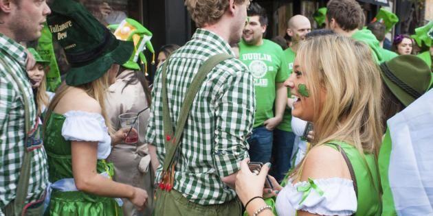 La fête de la Saint-Patrick, quatre jours de folie dans les rues de Dublin //©iStockphoto