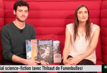 Special guest pour ce Breaking BD SF : Thibaut ! //©l'Etudiant Trendy
