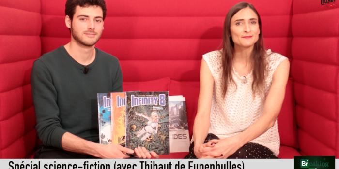 Special guest pour ce Breaking BD SF : Thibaut !