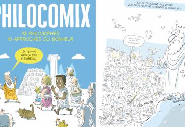 """Découvrez """"Philocomix"""" tout l'été en prépublication sur Trendy ! //©Rue de Sèvres"""