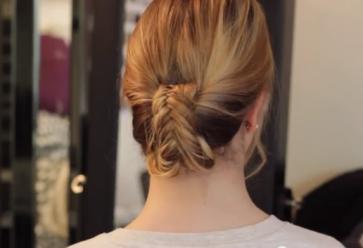 Marie-tutoriel-coiffure-chignon-epi //©