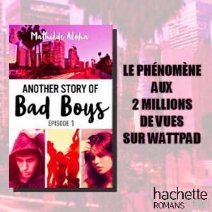 Gagnez votre roman Another Story of Bad Boys de Mathilde Aloha !