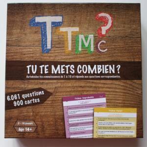 Gagnez votre boîte de jeu ''TTMC - Tu te mets combien ?''