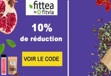 10% de réduction sur tout le site chez Fittéa