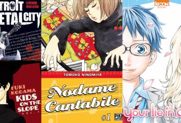 Une sélection de mangas qui va vous plonger dans la musique //©l'Etudiant Trendy